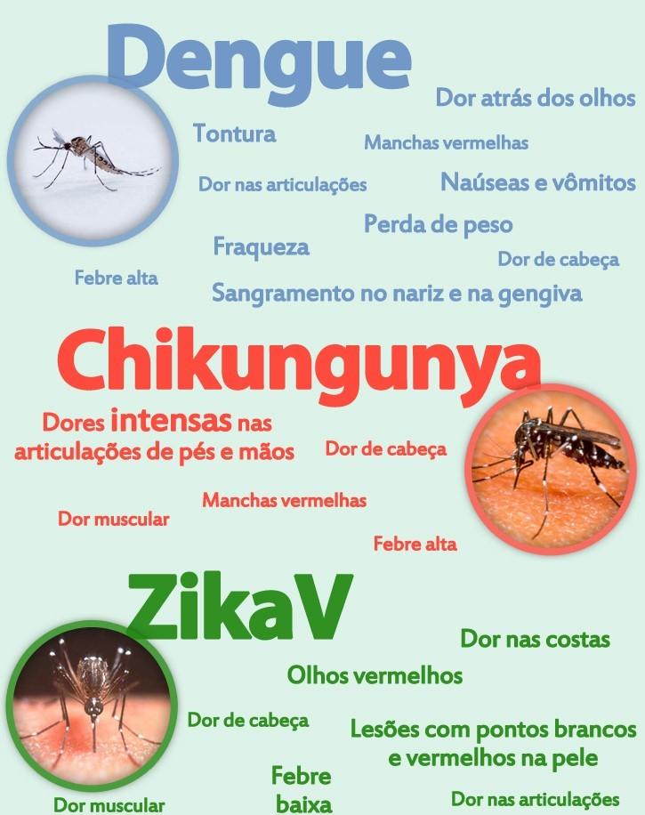 Dengue, Chikungunya, Zika,